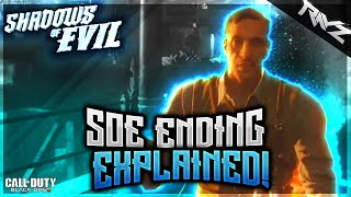 Black Ops 3 Zombies: Shadows Of Evil Ending Cutscene Explained! Why Richtofen Stole The Key (BO3)