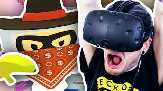 getlinkyoutube.com-I GET ROBBED IN VR!! | Job Simulator