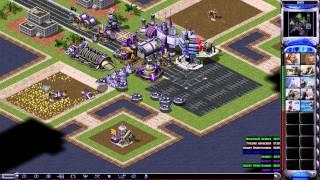 getlinkyoutube.com-Red Alert 2: Reborn 2.1 [MOD] - 2x3 | Enigma, RopeR VS Dagi, Q21, Eupator