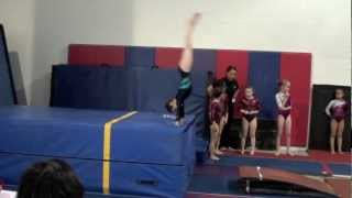 getlinkyoutube.com-Annie the Gymnast-Level 4 Gymnastics Meet