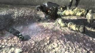 Modern Warfare 2 Ghost & Roach's Death using noclip