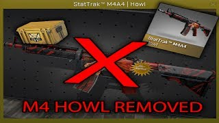 M4A4   Howl REMOVED FROM CS:GO!