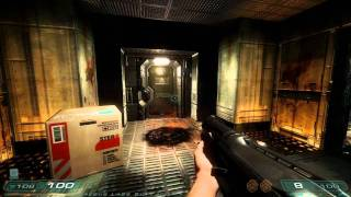 Doom 3: RoE Walkthrough Part 3 HD - Erebus - Level 3: Erebus Labs