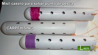 getlinkyoutube.com-Cohete Cebador casero para cebar lugar de pesca / Carpfishing.