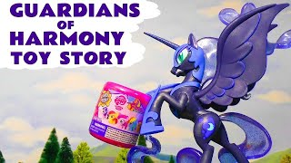 getlinkyoutube.com-MLP My Little Pony Guardians Of Harmony toy story and opening of Fashems with Peppa Pig TT4U
