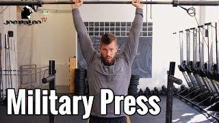 getlinkyoutube.com-Military Press (Schulterdrücken) | Wie Ihr es richtig macht!