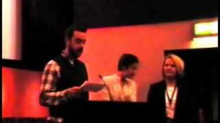 Video of the Introduction Cherrybomb at Belfast Film Festival 2009