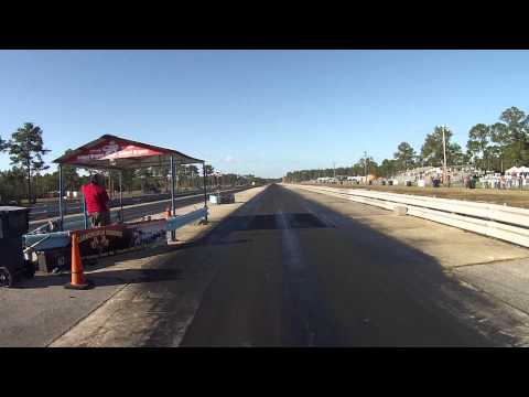 Grey Beards Customs Drag Run at The Atomic Blast 2013