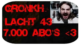 getlinkyoutube.com-Gronkh lacht 43 - 7.000 Abonnenten Special