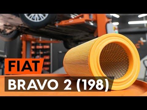 Как заменить воздушный фильтр двигателя на FIAT BRAVO 2 (198) (ВИДЕОУРОК AUTODOC)