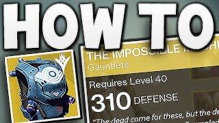 getlinkyoutube.com-Destiny - HOW TO GET 310 LIGHT EXOTICS !!