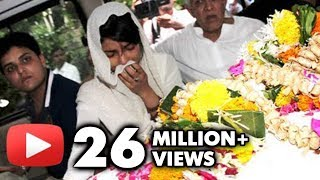 getlinkyoutube.com-Priyanka Chopra's Dad Ashok Chopra's Funeral - Bollywood Stars Pay Condolence