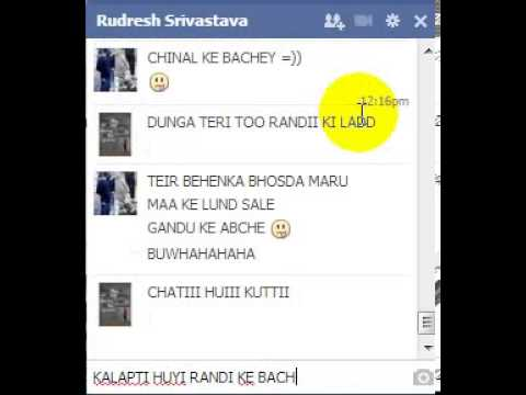 RUDRESH TATTA SLOW TYPER CHUD KAR FARAR :D