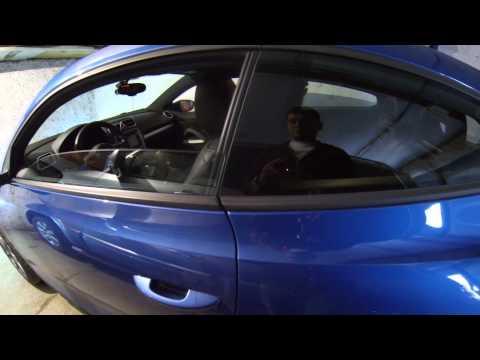 Двери VW scirocco после замены замков