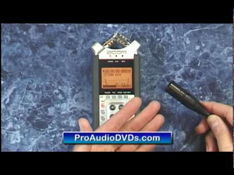 Zoom H4n Features Unbox Demo Tutorial DVD Handy Recorder