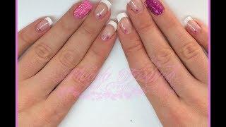 getlinkyoutube.com-Semipermanente - french bianco classico e nail art || Madda.fashion