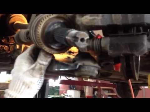 Hyundai Solaris - замена сальника привода КПП