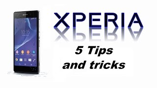 getlinkyoutube.com-Tips and Tricks Sony XPERIA Z1, Z2, Z3, Z5 - Secrets, Safe Mode, Hidden Test Developer Menu, Reset