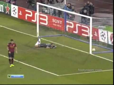 Napoli 2-1 Manchester City Goals Highlights HD 22/11/2011