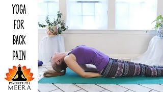 Meera Yoga #9 Back Pain Stretches For Beginners