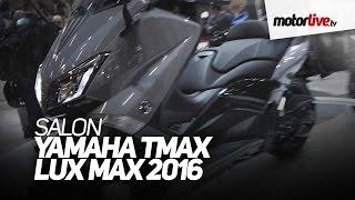 getlinkyoutube.com-SALON DE PARIS 2015 | YAMAHA TMAX LUX MAX 2016
