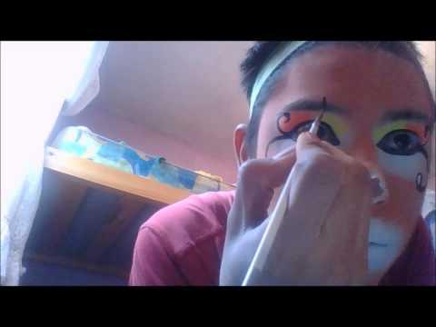 maquillaje de payaso \clown makeup