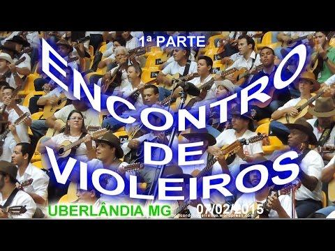 ENCONTRO DE VIOLEIROS   Uberlândia MG   07 02 2015   filme   1ª parte