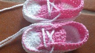 getlinkyoutube.com-Zapatillas Converse de Verano para Bebé - Parte1