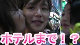 getlinkyoutube.com-【渋谷ハロウィン】コスプレ美女達にキスを頼んだらパリピすぎたwww