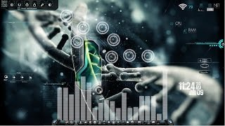 getlinkyoutube.com-Customize your Windows 7 with Rainmeter