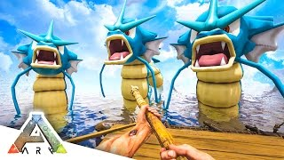 getlinkyoutube.com-GYARADOS ATTACK! - ARK SURVIVAL EVOLVED POKEMON MOD #6
