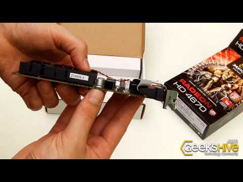 ATI Radeon HD 4670 XFX - Unboxing by