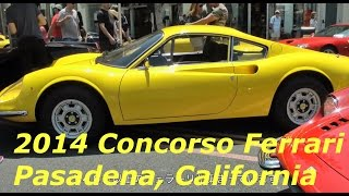 getlinkyoutube.com-名車がズラリ!フェラーリ・コンクール パサデナ Concorso Ferrari on Colorado Pasadena 2014
