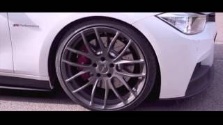 getlinkyoutube.com-White innocence - New BMW F30 powered by M-Performance and Akrapovic