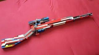 Lego Sniper v6 + Mechanism