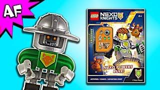 getlinkyoutube.com-Lego Nexo Knights NEXO POWERS RULE! Activity Book Full Review