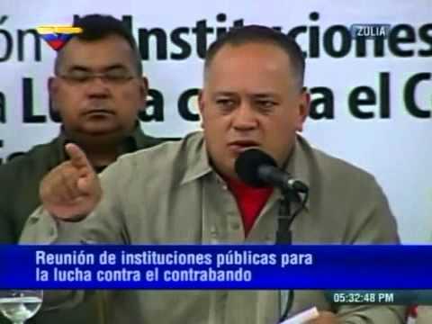 Rueda de prensa Jorge Arreaza y Diosdado Cabello sobre medidas contra bachaqueros