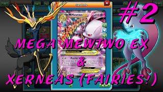 Mega Mewtwo EX & Xerneas (Fairies!) Deck! #2 Pokemon Trading Card Game Online!