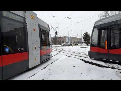 Tramvaie in Oradea Winter Edition (Part.1) (22 01 2011)