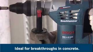 getlinkyoutube.com-Bosch Rotary Hammer Drill Videos