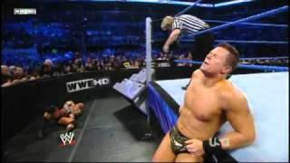 getlinkyoutube.com-Smackdown 12/24/10 Randy Orton vs The Miz