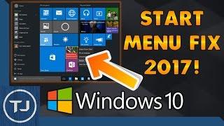 getlinkyoutube.com-How To Fix Windows 10 Start Menu/Button 2017 NEW!