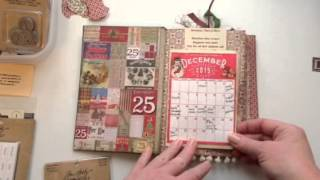 getlinkyoutube.com-Christmas Junk Journal/December Daily - update