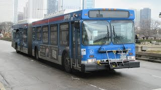 getlinkyoutube.com-Buses in Chicago, IL (Volume Two)