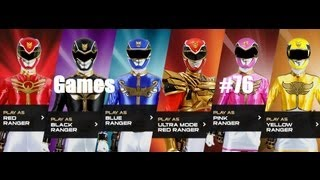 getlinkyoutube.com-Games: Power Rangers Megafoce - Missions 1
