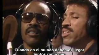 getlinkyoutube.com-Michael Jackson - We are the world (Subtitulado español)