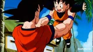 getlinkyoutube.com-Goku Meets Goten For The First Time - 3D/HD 1080p