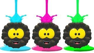 Squishy Colorful Balls | WonderBalls Cartoon Show For Kids | Cartoon Candy