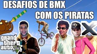 getlinkyoutube.com-GTA V PS4 - ZOEIRA DE BMX COM OS PIRATAS #Hu3