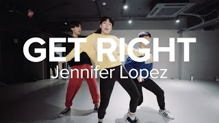 getlinkyoutube.com-Get Right - Jennifer Lopez / Hyojin Choi Choreography